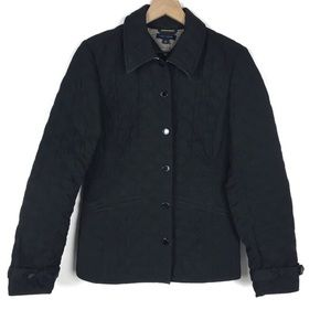 TOMMY HILFIGER Jacket Coat Quilted Puffy Black M